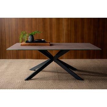 Table basse en verre gris clair OTTAWA