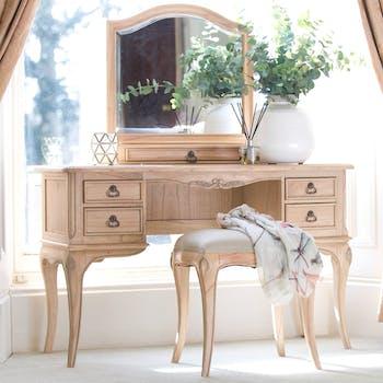 Bureau en bois romantique BLOIS