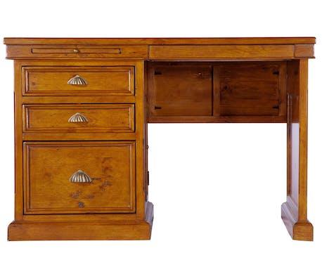 Petit bureau en bois recyclé OXFORD