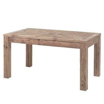 Table à manger bois recyclé 150 cm DETROIT
