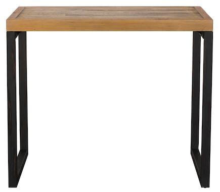 Mange-debout rectangulaire bois recyclé 120x80 BRISBANE
