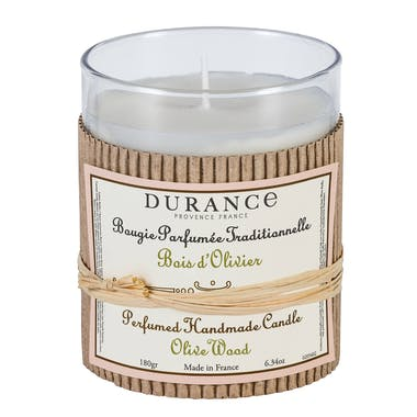 Bougie parfumée Bois d'Olivier 180gr DURANCE