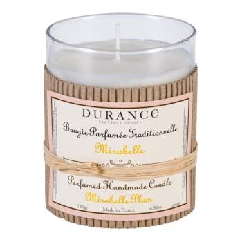 Bougie parfumée Mirabelle 180gr DURANCE