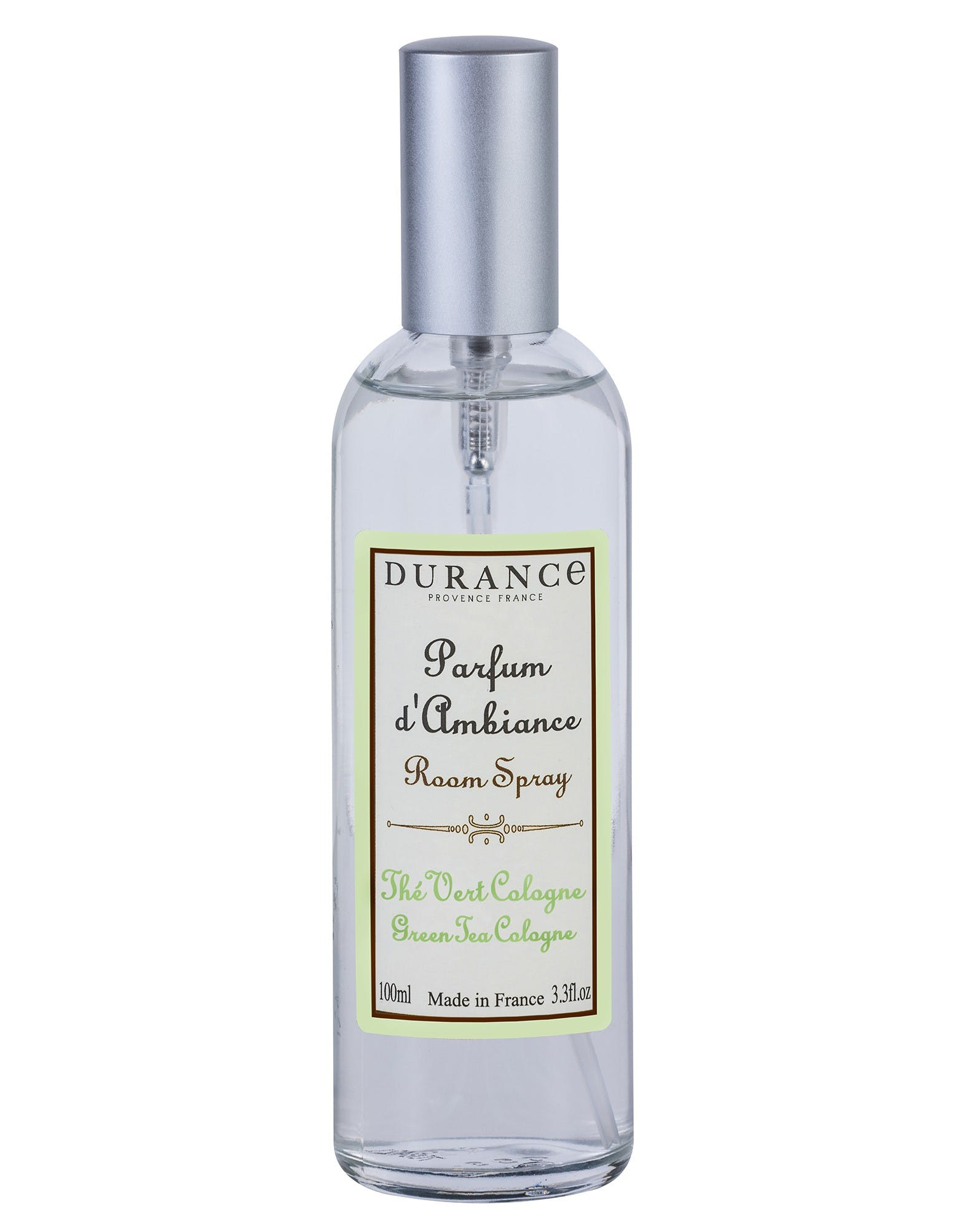 Parfum d'ambiance Thé vert Cologne 100mL DURANCE