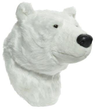 Tête Ours polaire 40 cm