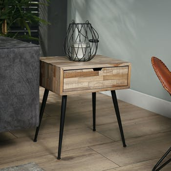 Tables De Chevets Tables De Nuit Industrielles Scandinaves