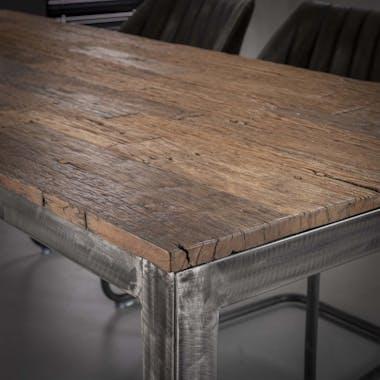 Table à manger vintage bois recyclé 240 cm OMSK