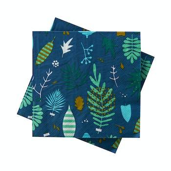 Serviettes papier (lot de 20) Herbier DLP