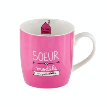 Mug (+ boite) Sœur modèle DLP