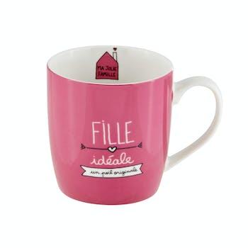 Mug (+ boite) Fille idéale DLP