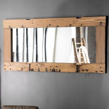 Miroir vertical bois recyclé 80x170 JODHPUR