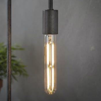 Ampoule tube led ambrée filament lumière chaude 18,5 cm E27