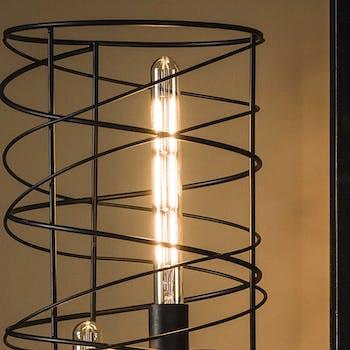 Ampoule tube led ambrée filament lumière chaude 30 cm E27