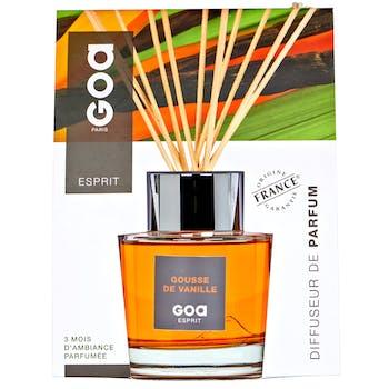 Diffuseur de parfum Esprit Gousse de Vanille 200 ml CLEM GOA
