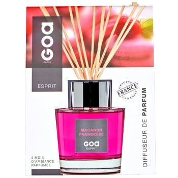 Diffuseur de parfum Esprit Macaron Framboise 200 ml CLEM GOA