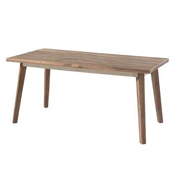 Table à manger bois de bateau recyclé 180 cm SUMATRA