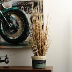 Plante artificiel herbe à oignon H 90 cm