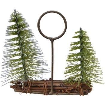 Porte-carte mini arbre fagot