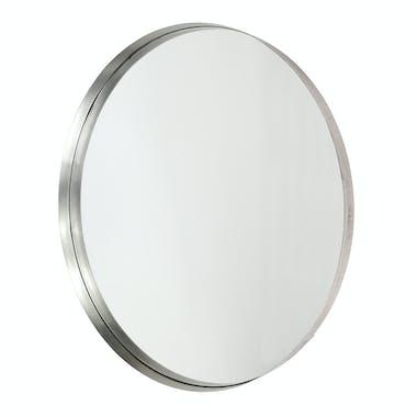Miroir rond argent vieilli D 75 cm NIAGARA
