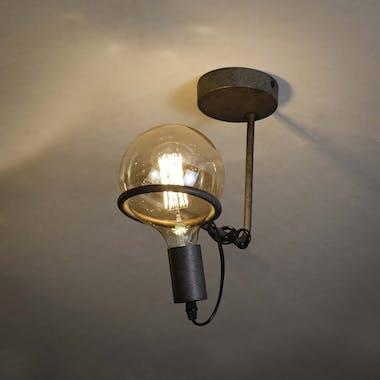 Plafonnier industriel baladeuse 1 lampe RALF