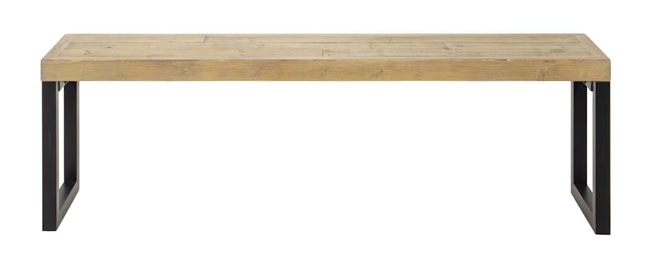 Banc de table en bois recyclé 140 cm AUCKLAND