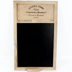 """Tableau mémo """"general store"""" 50 cm"""