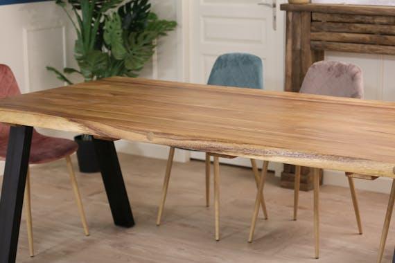 Table de repas en bois de suar HAWAI
