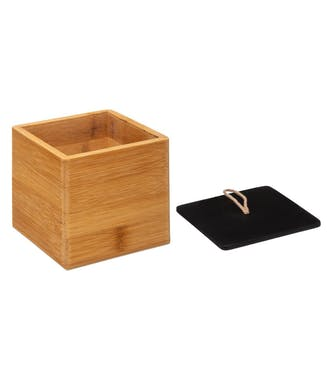 Set de 2 boîtes en bambou