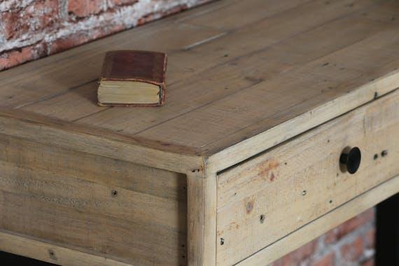 Console d'entrée en bois recyclé AUCKLAND