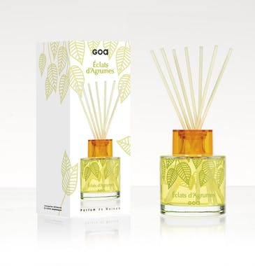 Diffuseur de parfum Eclats d'Agrumes Les Intemporelles 200ml CLEM GOA