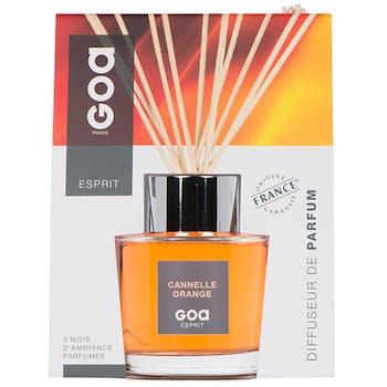 Diffuseur de parfum Esprit Cannelle Orange 200ml CLEM GOA