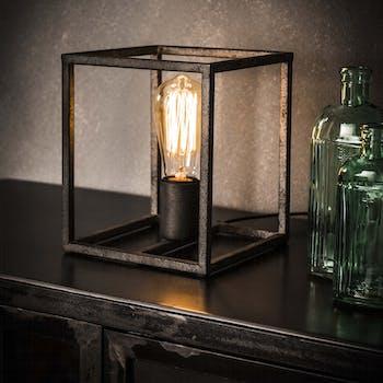 Cube lumineux vintage TRIBECA