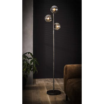 Lampadaire vintage filaire 3 globes RALF