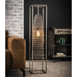 Lampadaire industriel maille structure rectangle
