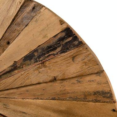 Décoration murale bois de teck ronde OTTAWA