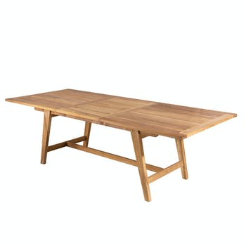 Table de jardin extensible teck 180/240 SUMMER