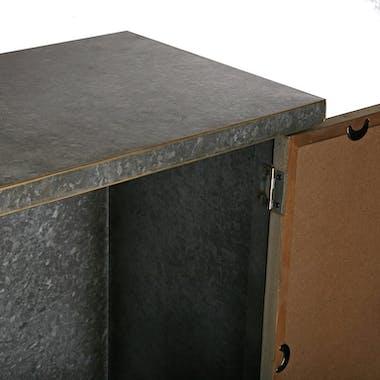 Colonne bois métal galvanisé ATELIER