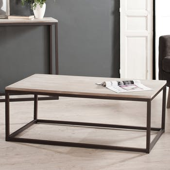 Table basse moderne rectangulaire LALI