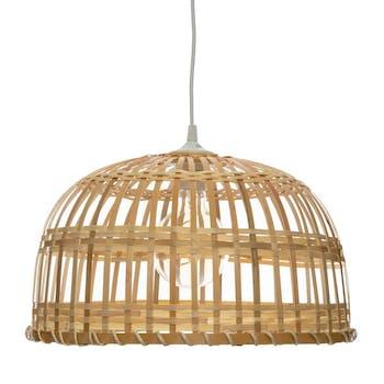 Suspension dôme en bambou