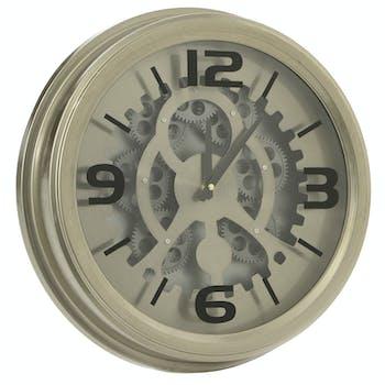 Horloge moderne mécanisme D 43 cm