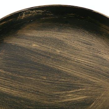 Table d'appoint filaire en métal BURGOS (lot de 2)