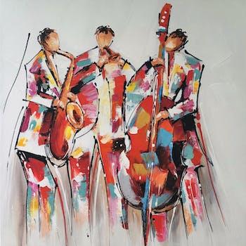 Tableau musique concert de jazz