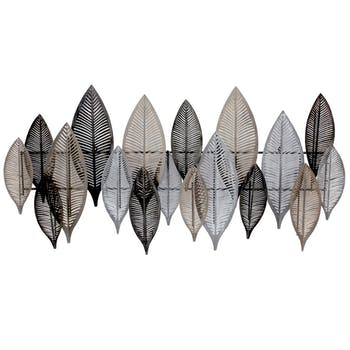 Décoration murale feuilles graphiques sans tiges