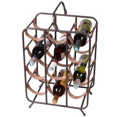 Porte-bouteilles métal x12