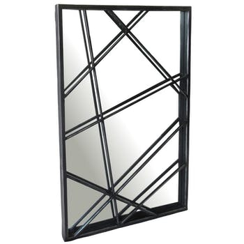Miroir décoratif lignes abstraites