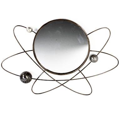 Miroir décoratif en métal effet planètes