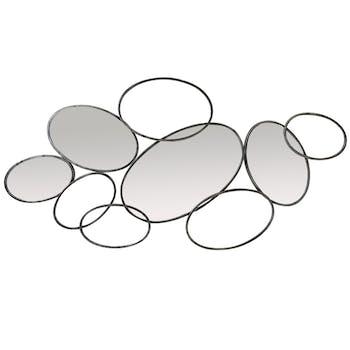 Miroir décoratif forme galets
