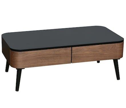 Table basse vintage bicolore LIEGE