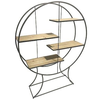 Etagère décorative ronde 4 niveaux CAIRNS