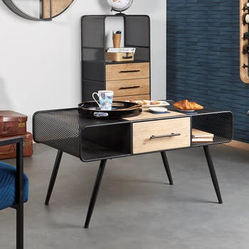 Table basse industrielle GAND